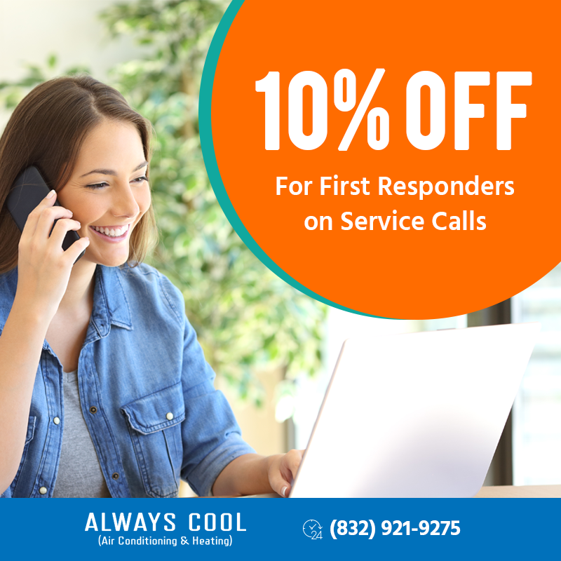 10% Off For First Responders On Service Call
